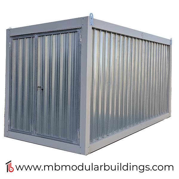 Steel Storage Prefab Container Flatpack, Galvanised Storage Container